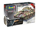Tiger II Ausf II Ausf.B- Full Interior, Limited Edition- Platinum Edition, 1:35