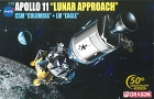 Apollo 11 Lunar Approach CSM Columbia+ LM Eagle, 1:72