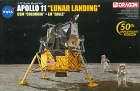 Apollo 11 Lunar Landing CSM Columbia + LM Eagle, 1:72