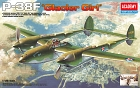 P-38F LIGHTNING GLACIER GIRL, 1:48