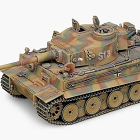 GERMAN TIGER-I EARLY VERSION, 1:35