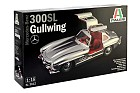 Mercedes Benz 300 SL Gullwing, 1:16