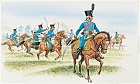 French Hussars, 1:72