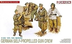 German Self Propelled Gun Crew, 1:35