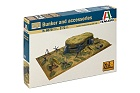 Diorama WWII Bunker and accessories, 1:72