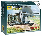 Zacvakávací model German 88 mm Flak 36/37, 1:72