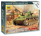 Zacvakávací model Panzer III Flamethrower Tank, 1:100