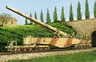 German Railway Gun 28cm K5E LEOPOLD, 1:35