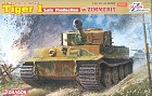 Pz. Kpfw. VI Ausf. E TIGER I LATE Production w/ ZIMMERIT, 1:35