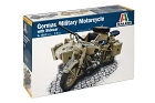 German Military Motorcycle with Sidecar, 1:9