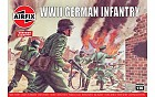 WWII German Infantry, 1:76
