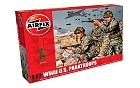 Figurky WWII US Paratroops, 1:72