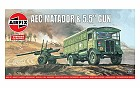 A EC Matador and 5,5 Gun, 1:76