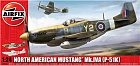 North American Aviation P51K/RF Mustang, 1:24