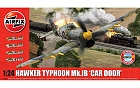 Hawker Typhoon 1B- Car Door ( plus extra Luftwaffe Scheme), 1:24