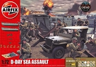 Diorama Set D-Day 75 th Anniversary Sea Assault, 1:72